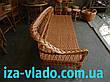 Плетеная мебель из лозы. Лежак., фото 5