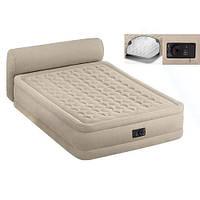 Надувная двухспальная кровать Intex 64460 со встроенным насосом