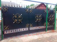 Кованые ворота арт.в 7, фото 1