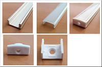 Профиль для светодиодной ленты накладной 1м комплект