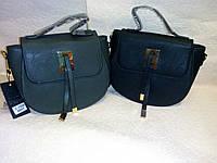 Стильные женские сумки (серая и черная)