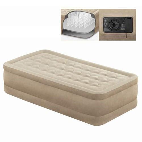 Надувная велюровая кровать Intex 64456