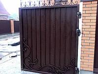 Кованые ворота арт.в 3, фото 1