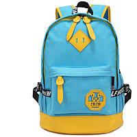 Рюкзак WH желто-синий K52