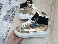 Кеды  Queen Collection золотые