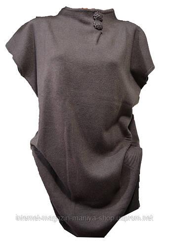 Туника - платье женская батал