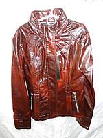 """Куртка женская """"BIN"""" кожзам S-XXXL модная качественная молодежная купить оптом в Одессе 7км дешево"""