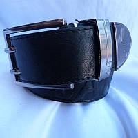 Ремень мужской Батал125-160мм кожа 40мм купить оптом в Одессе недорого модные 7км, фото 1