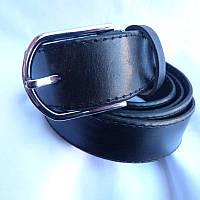 Ремень мужской Батал125-160мм кожа 35мм купить оптом в Одессе недорого модные 7км