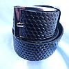 Ремень мужской Батал125-160мм кожзам 35мм купить оптом в Одессе недорого модные 7км