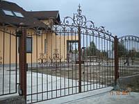 Кованые ворота арт.в 4, фото 1