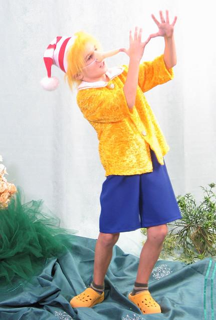 Продажа детского карнавального костюма для мальчика - Буратино