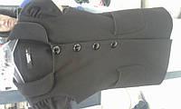Пиджак  трикотаж длинный с коротким рукавом