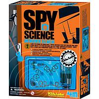 Детская лаборатория. Набор шпиона. Сигнализация