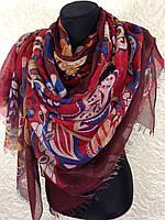 "Очень широкий шарф ""Цепи"" (1)"