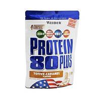 Протеин Protein 80+ Тоффи-карамель WEIDER 500 гр