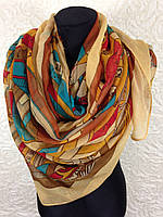 "Очень широкий шарф ""Цепи"" (2)"