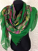 "Очень широкий шарф ""Цепи"" (3)"