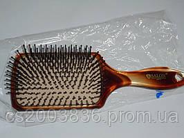 Расческа Salon Professional 6997TT, отличная расческа, профессиональная, удобная, массажная расческа, бренд