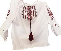 Вышиванка для девочки длинный рукав с вышивкой