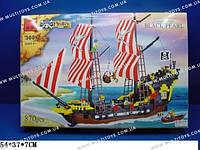 Конструктор BRICK 308 пират.корабль 863дет.распак.кор.54*7*37 ш.к./12/(308)