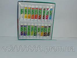 Акриловые краски Global Fashion 18 цветов(12 мл), краски, набор акриловых красок
