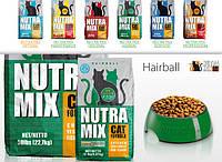 Nutra Mix Hairball Нутра Микс Херболл для кошек Ph контроль, выведения шерсти.22,68 кг