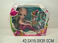 "Кукла ""Thumbelina"", 2 вида, с аксесс. в кор. 42х15х35 /12-2/(1020)"