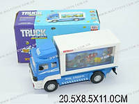 Машина-грузовик, батар., свет, звук, в кор. 20х8х11 /96-2/(WS8327-20)