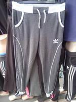 Женские спортивные штаны ADIDAS БАТАЛЬНЫЕ трикотажные утепленные на флисе  купить в Одессе оптом 28c9530c18c32