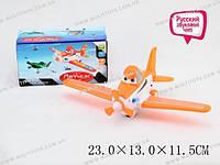 "Самолетик ""Летчик"", батар., свет, звук, в кор. 23х13х11 /54-2/(33118A)"