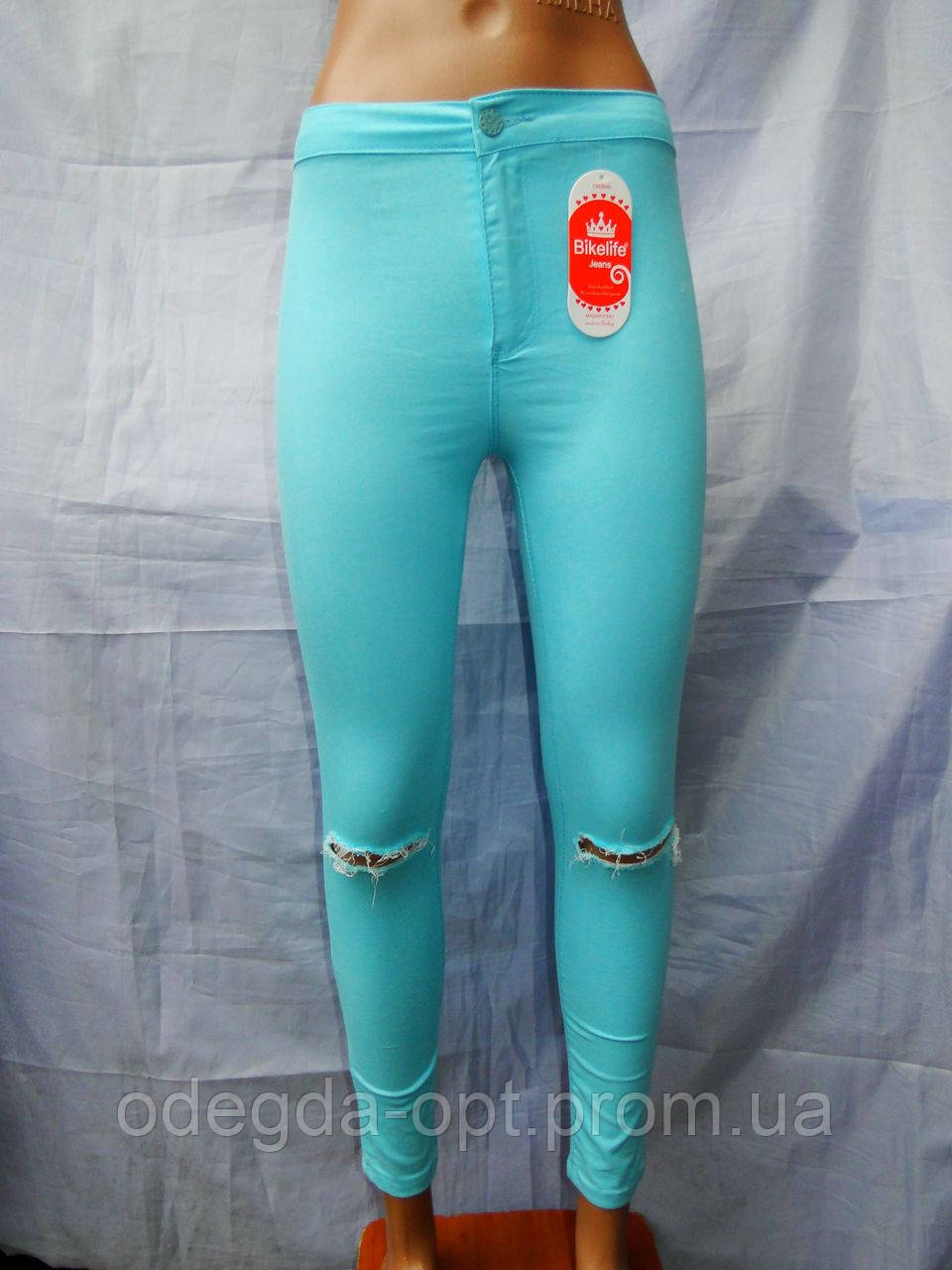 Джинсы женские модные стрейч+котон норма качественные купить оптом в Одессе не дорого 7км, фото 1