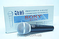 Микрофон проводной Sony DM A386, микрофон, проводной,  аудиотехника, аксессуары