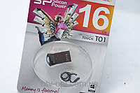 Mini Flash USB 2.0 накопитель SP Silicon Power T01 16 GB, флешка usb, Флеш накопитель, аксессуар