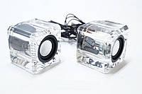 Портативные колонки,для ПК Senkeno k 700 cтеклянные, оригинальные колонки, портативная акустика, аудиотехника