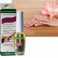 Aroma Inter (Арома Интер) Косметическое масло Здоровые ногти кисточка 9 мл