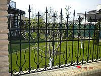 Кованый забор арт.6, фото 1