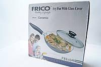 Керамическая сковородка Frico Fru 140 28 см, керамика, сковородки, кухонная посуда, сковородка Фрико