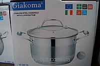 Кастрюля Giakoma 20см 3.9L G-2802-20, кастрюли, нержавеющие кастрюли, сковородки, кухонная посуда, качество