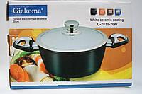 Кастрюля Giakoma 20 см G-2830-20W, кастрюли, нержавеющие кастрюли, сковородки, кухонная посуда, качество