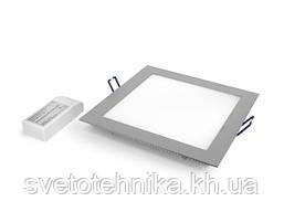 Сверхтонкий встраиваемый светодиодный LED светильник(светодиодная панель) Maysun DL-10 200x200-230V