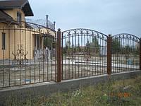 Забор кованый арт.8