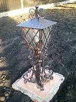 Фонарь садовый кованый арт.ф 5, фото 1