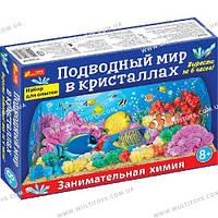 """Набір для дослідів """"Підводний світ в кристалах"""" 12138015Р /13/(0260-1)"""