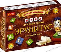 Настольная игра Ерудитус 12120031Р /12/(4011-01)