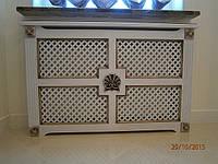 Экран декоративный деревянный на батарею отопления заказать цена в Киеве, Одессе