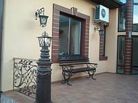 Скамейка кованая арт.л 3, фото 1