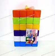 Кубики 48шт. 6*6*6 см. в сетке КВ /4/(02-605)