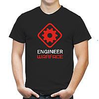"Мужская футболка ""Инженер Warface"""