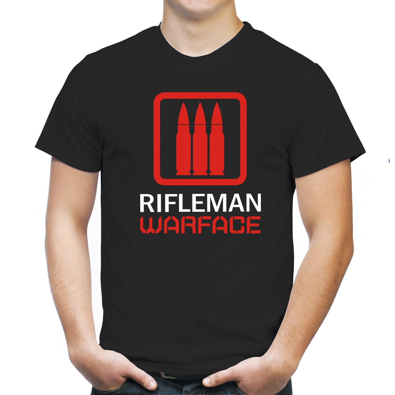 "Мужская футболка ""Штурмовик Warface"""